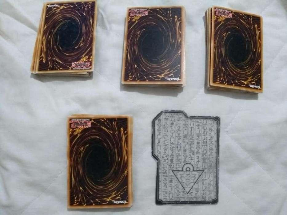 lote de 25 cartas de YU-GI-OH