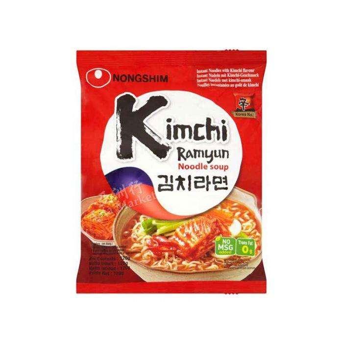 Ramen kimchi comida asiatica