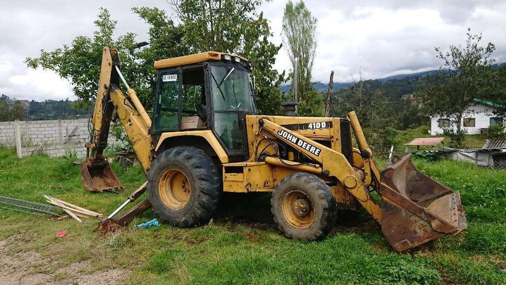 Se Vende Retroexcavadora John Deere 410