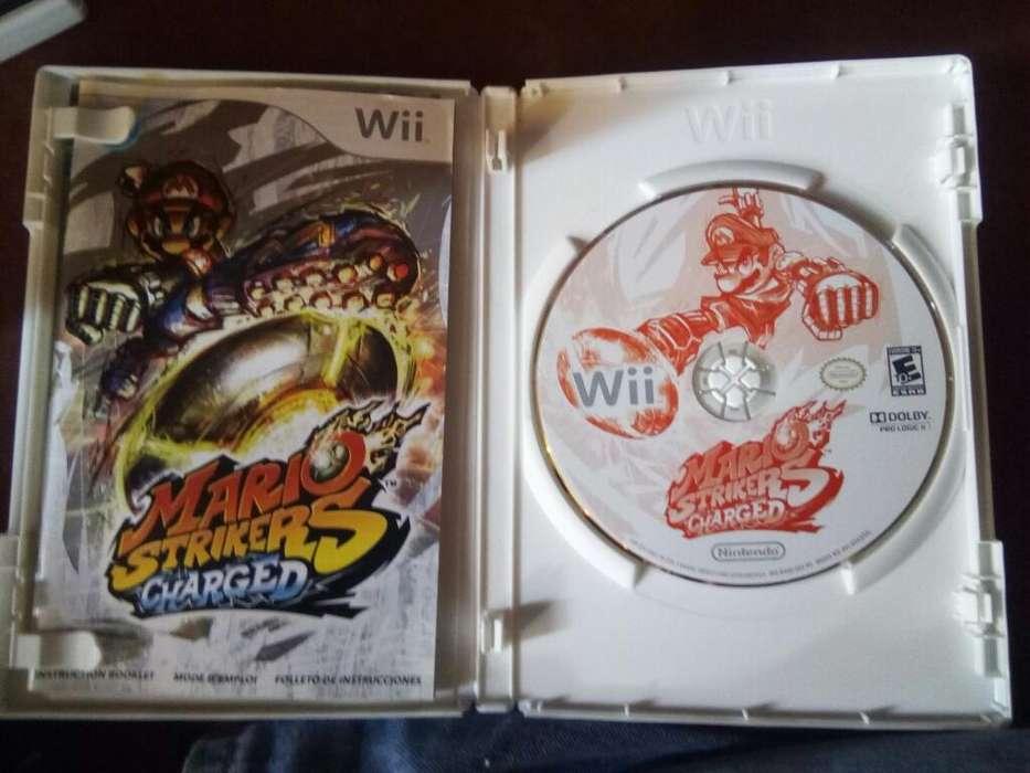 Mario Strikers Nintendo Wii