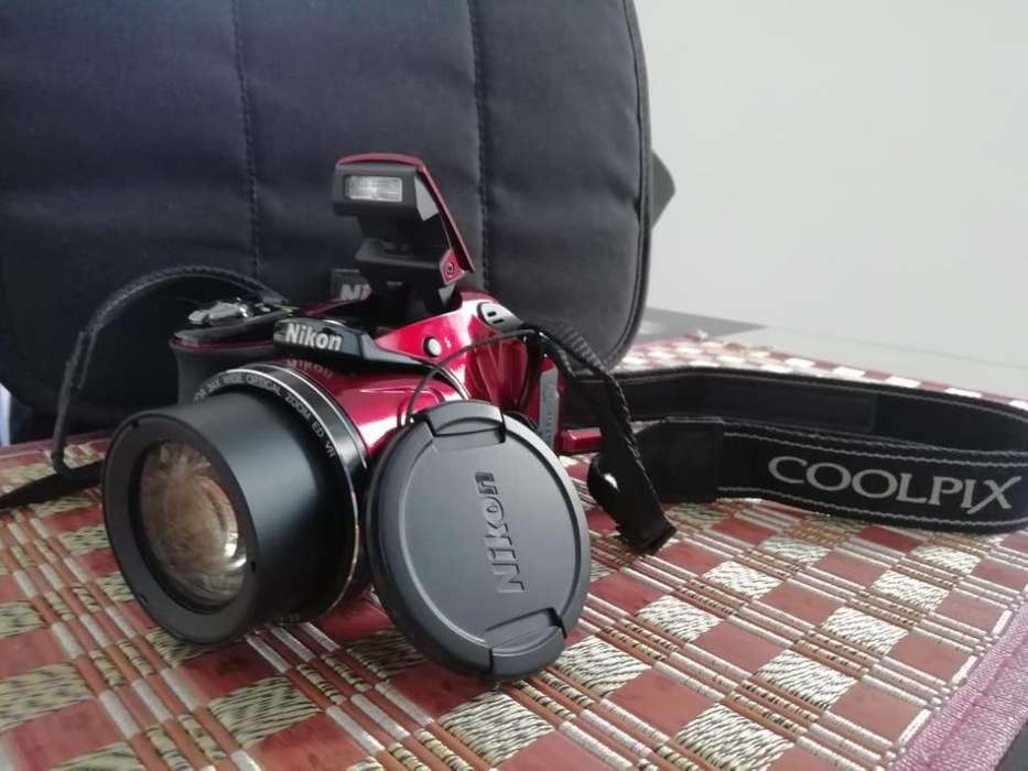 Cámara <strong>digital</strong> Nikon Coolpix L830 Maletin baterias recargables