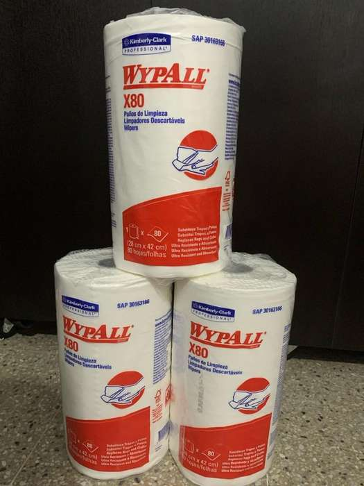 Wypall X80 paños de limpieza