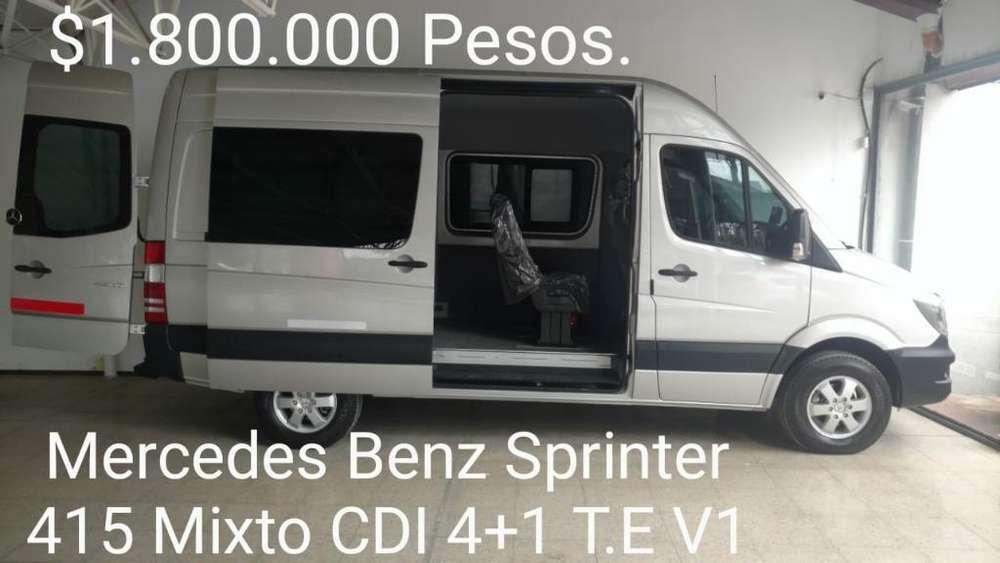 Urgente Vendo Mercedes 415 Mixto Cdi 41