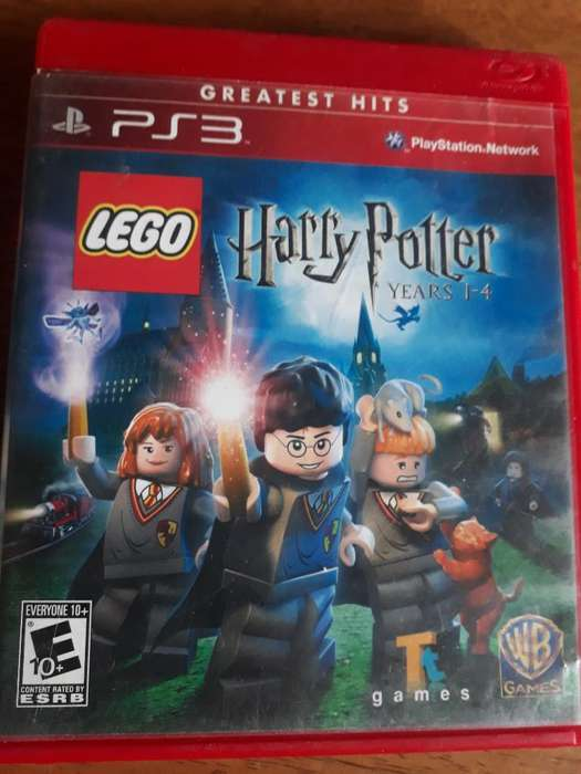 Juego Play3 Ps3 Lego Harry Potter