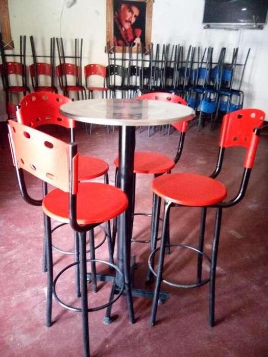 12 Juegos Sillas y Mesa para bar