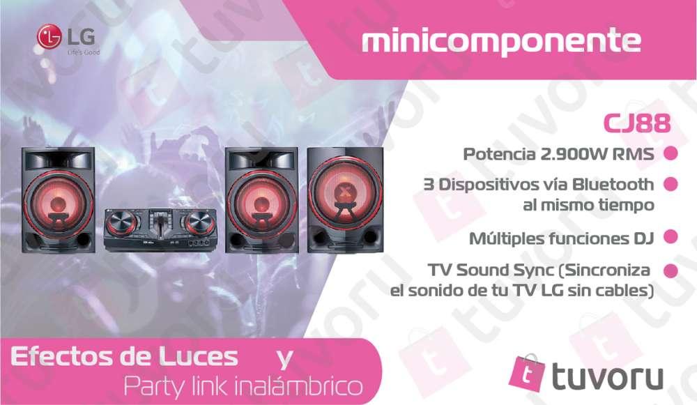 LG XBOOM CJ88 minicomponente