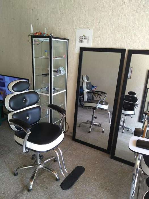 Mobiliario para salón de belleza