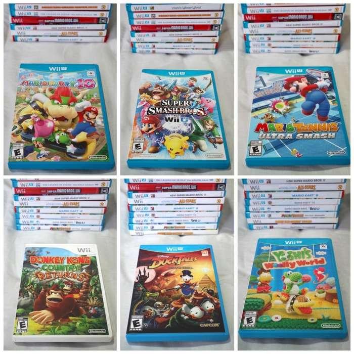 Juegos Wii Y Wii U