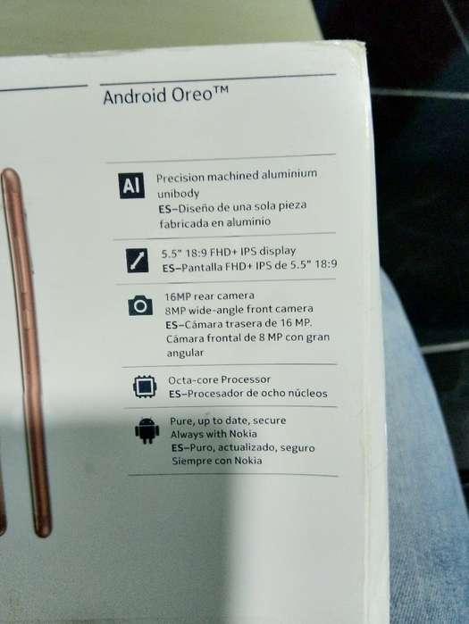 Vendo Nokia 5.1 Android 9 en Caja Azul