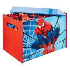 vendo baul de juguetes del hombre araña