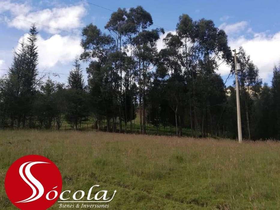 Terreno de 3365m2 a 200 metros de la vía La EsperanzaZuleta, Urbano