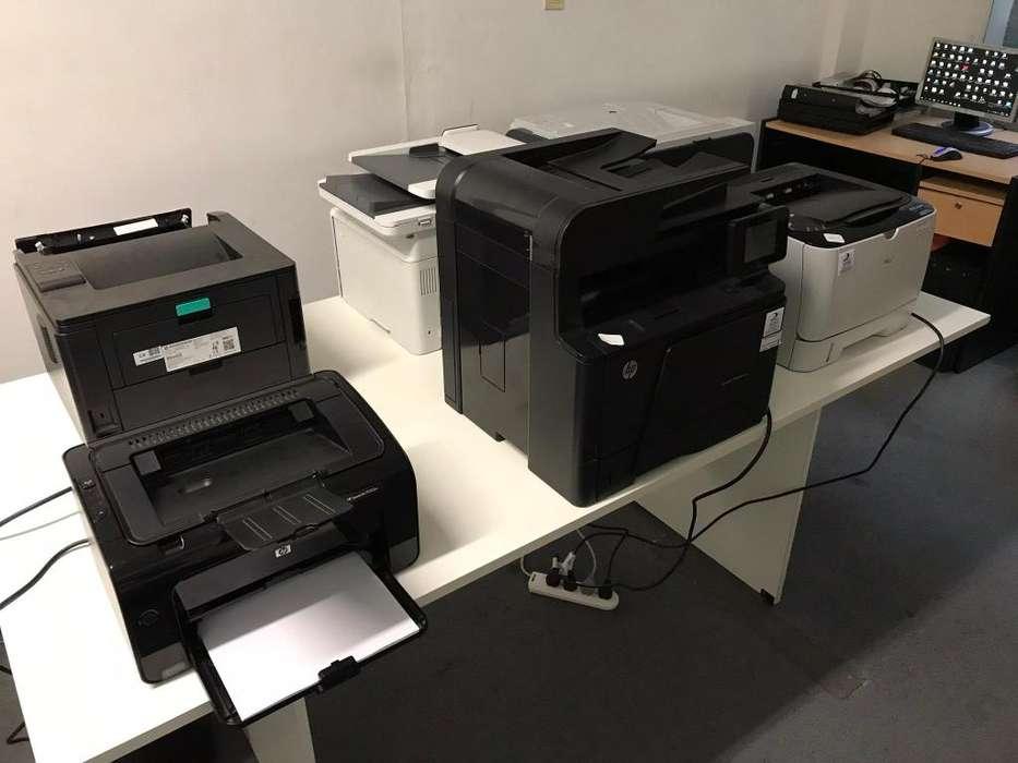 Reparación de Impresoras y Plotter