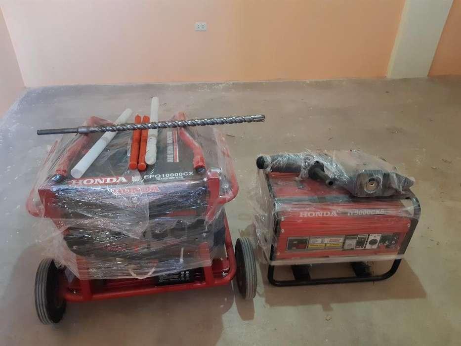 Generadores Electricos Y Roto Martillo