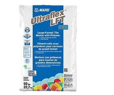 Pegamento ULTRAFLEX LFT 20 Kg MAPEI para piezas de grandes formatos