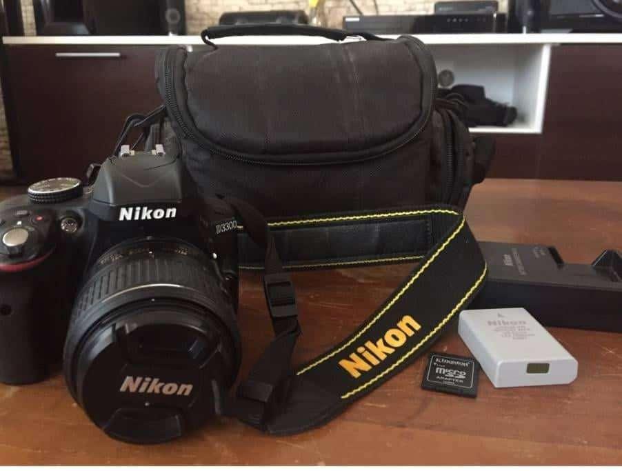 Vendo Nikon D3300 accesorios. 4208 disparos