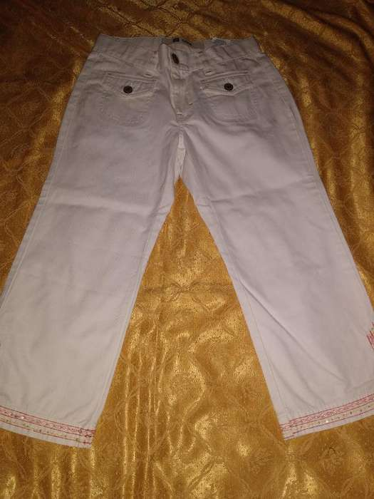 Pantalon Capri Y Remera Nena