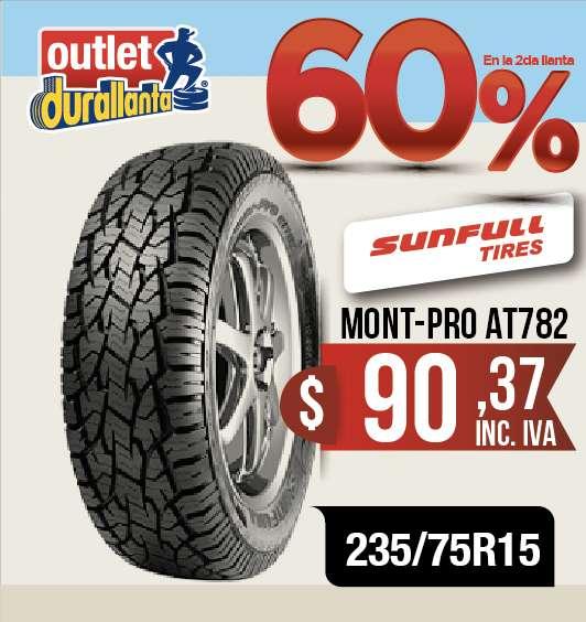LLANTAS 235/75R15 LT SUNFULL MONT-PRO AT782