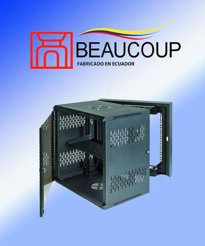 GABINETE RACK BEAUCOUP I1027N ABATIBLE DE PARED 19UR 92x61x51cm