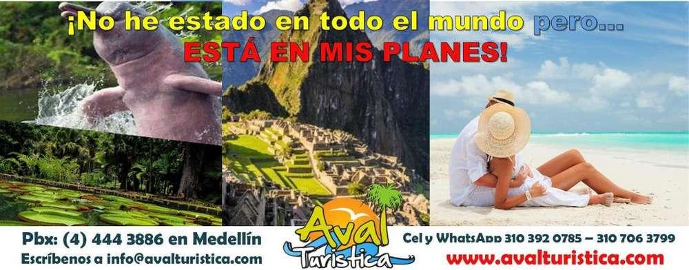 Viajes y Excursiones con salidas desde Medellín NACIONALES E INTERNACIONALES