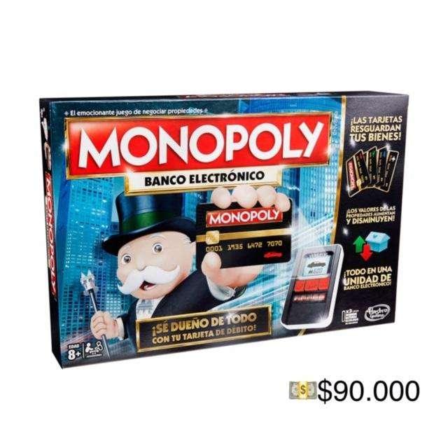 monopoly original, nuevo, sin destapar