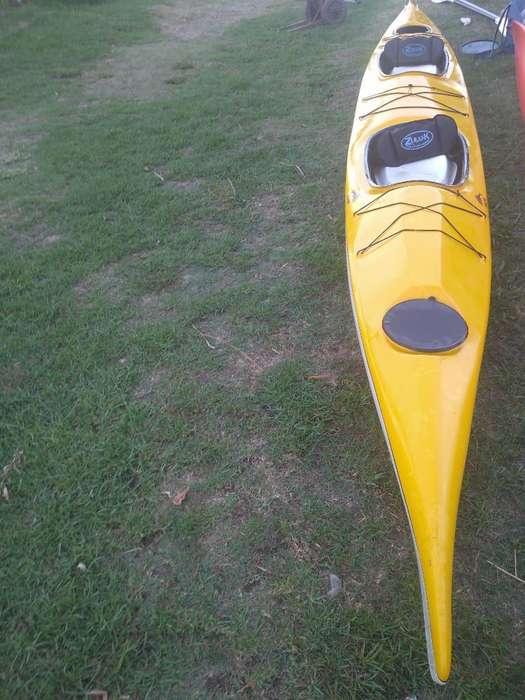 Kayak Doble Cerrado Delfin