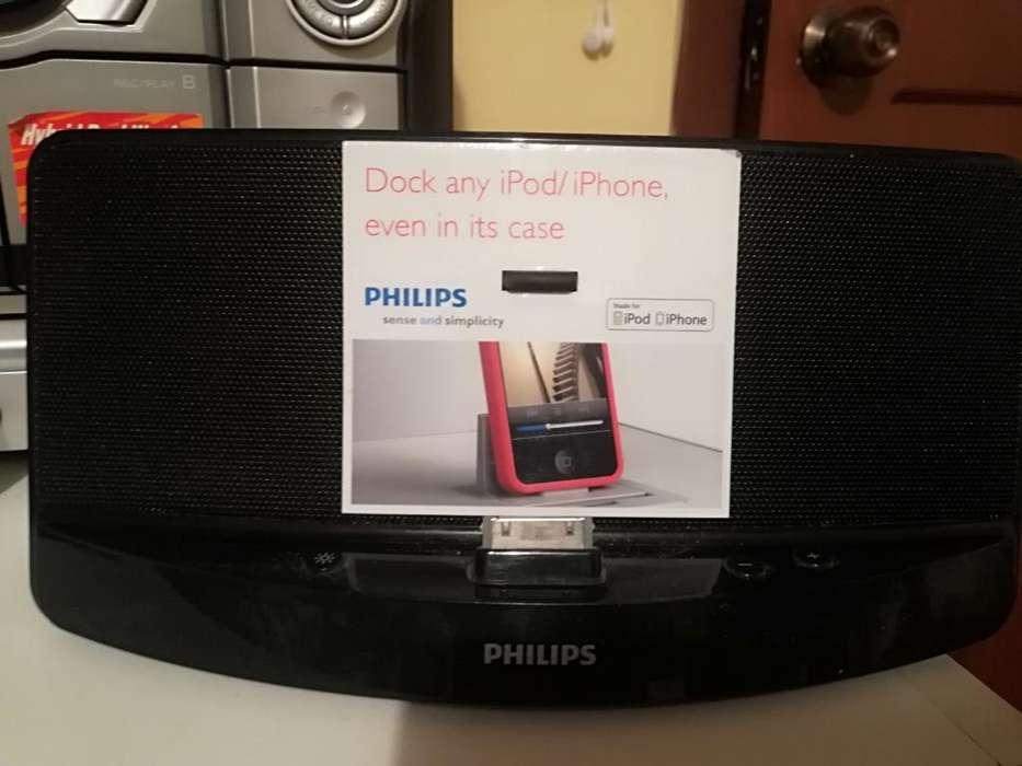 Parlante Philips para iPhone Y iPod
