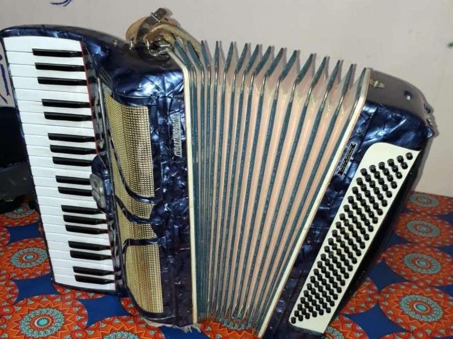Acordeon Hohner Maestropiano 120 Reduc