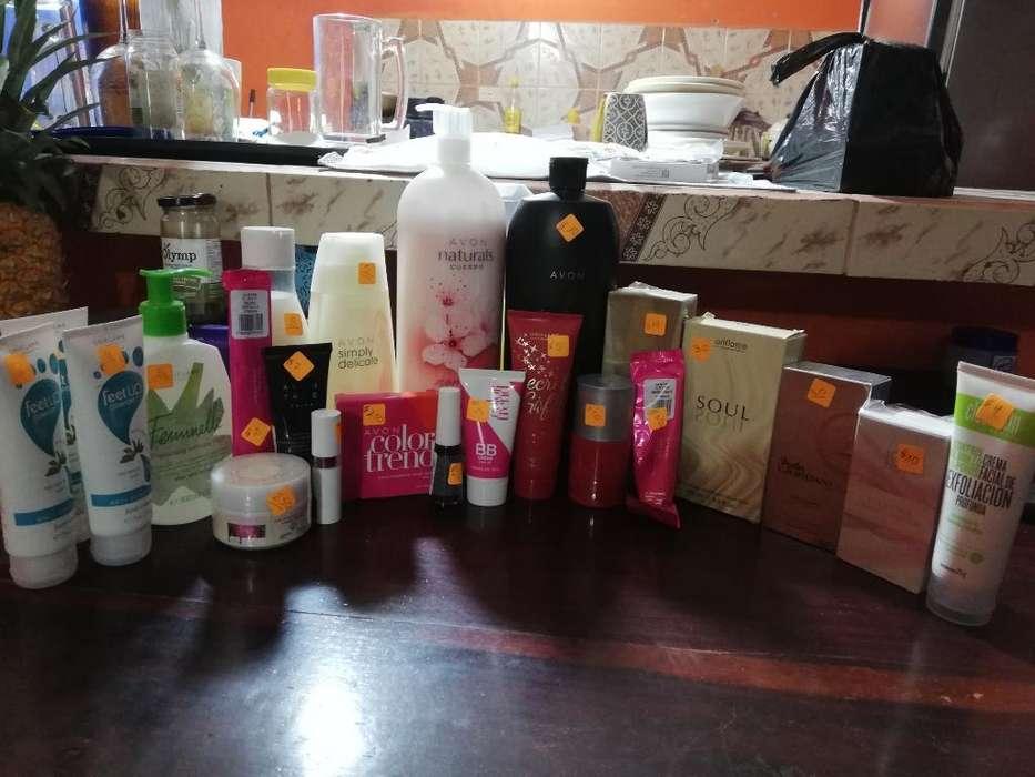 Productos de Avon Y Oriflame