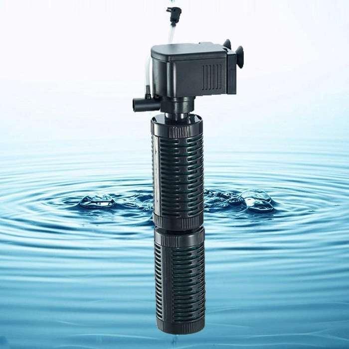Filtro marca Jeneca IPF380 de 2500 litros por hora NUEVO, para 500L max