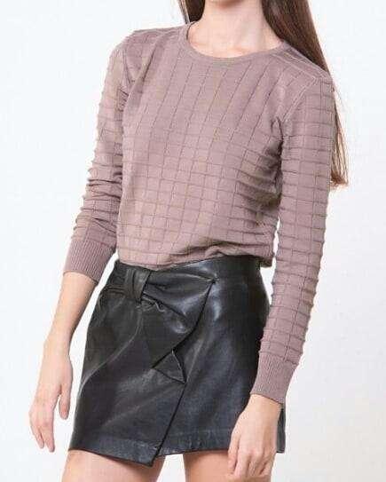 Sweater estilo retro
