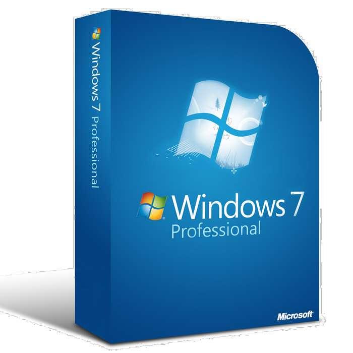 Windows 7 Professional 64/32 bits Licencia