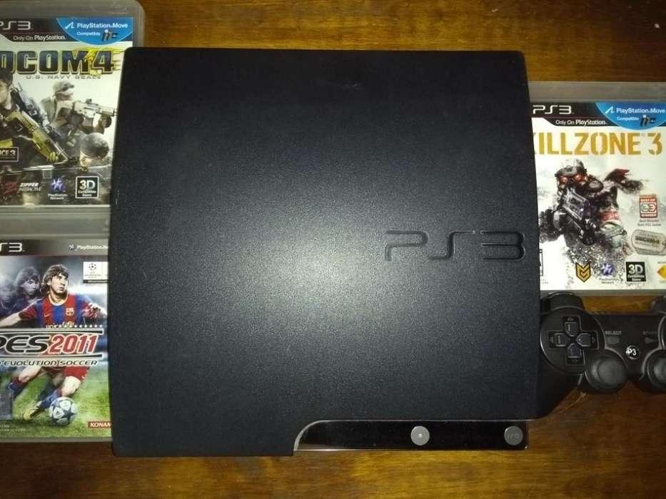Play 3, Ps3 Original de Sony. 2 Palancas