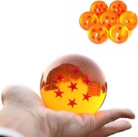 Set 7 Esferas Dragón Ball Tamaño Real 7.5 Cm Coleccion Lujo