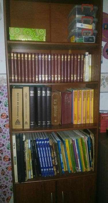 Mueble Biblioteca Maderkit
