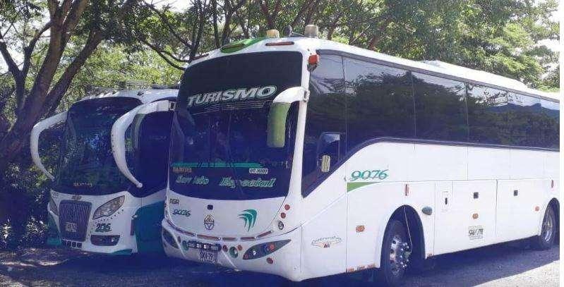 Alquiler de Ómnibus para turismo interno, traslados de empleados, funcionarios