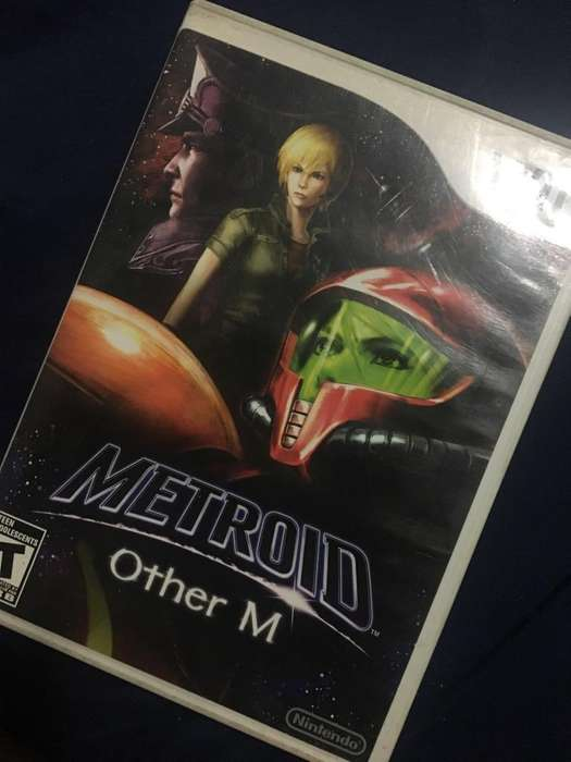 Metroid Other M Juego Wii