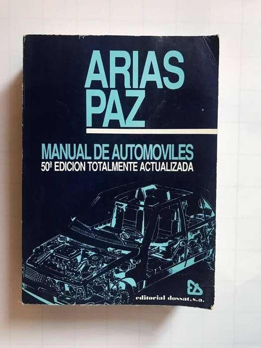 Libro Manual de Automoviles Arias Paz Edicion 50 Usado
