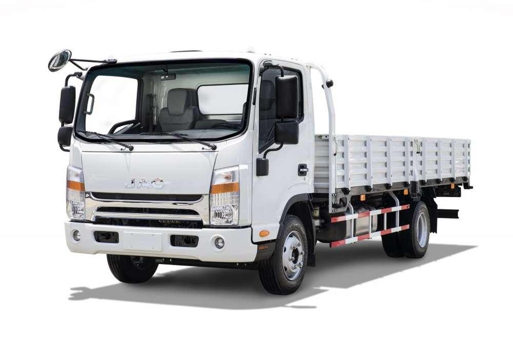 Camión JAC 5 Toneladas con Baranda VIP Euro 4 - SD400 BAR VIP E4