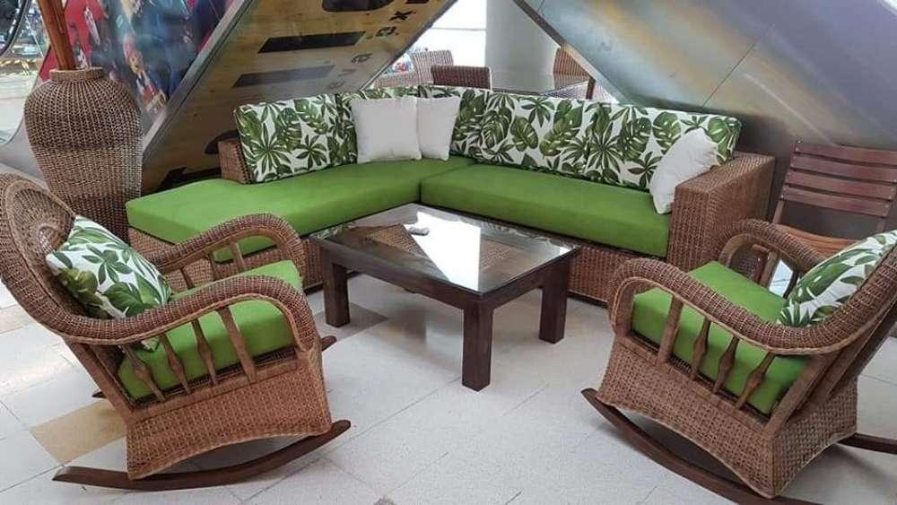 Fabrico Muebles en Rattan, Mimbre, Yare,
