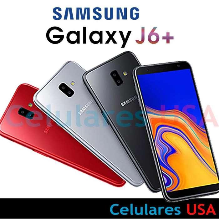 Samsung Galaxy J6 Plus 32gb Ram Tienda San Borja. Garantía.