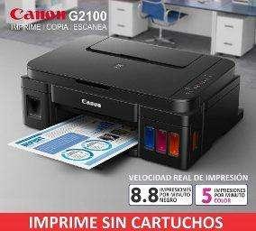 <strong>impresora</strong> CANON G2100 SIST ORIGINAL PIXMA INK EFFICIENT