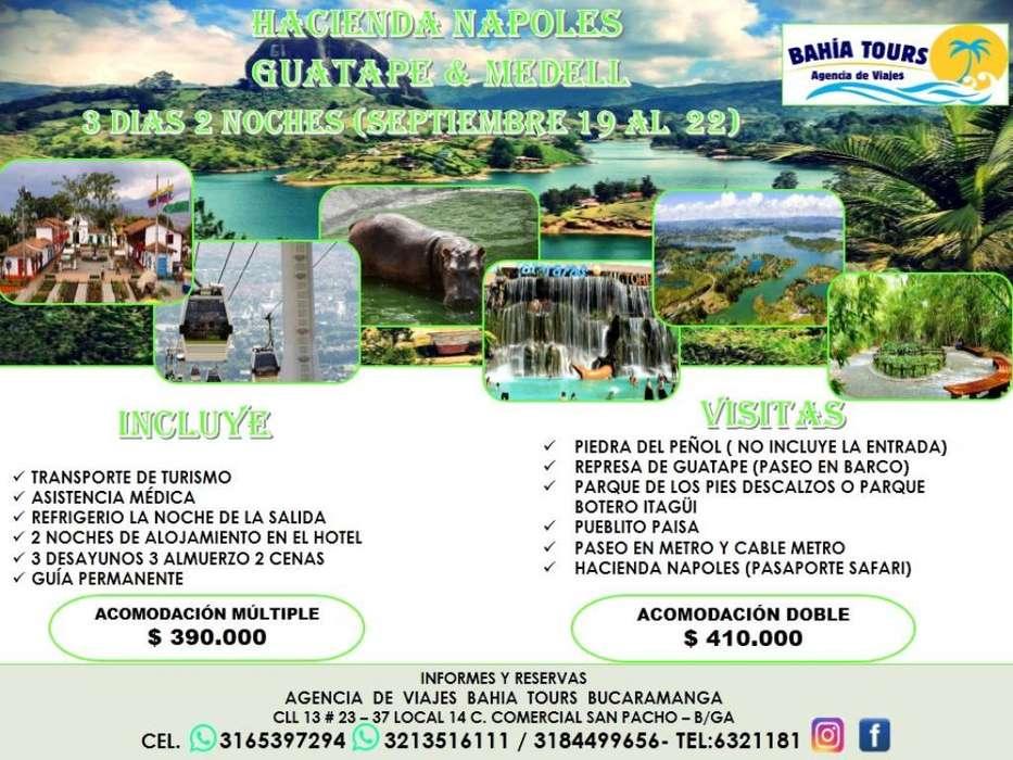 Tour Medellin Salida 19 de Septiembre