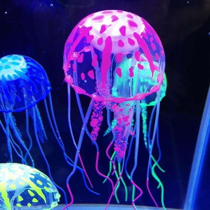 Medusa Decoracion de Pecera