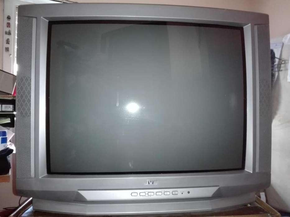 <strong>televisor</strong> Jvc Modelo Av-t2912-franja Gris En Pantalla