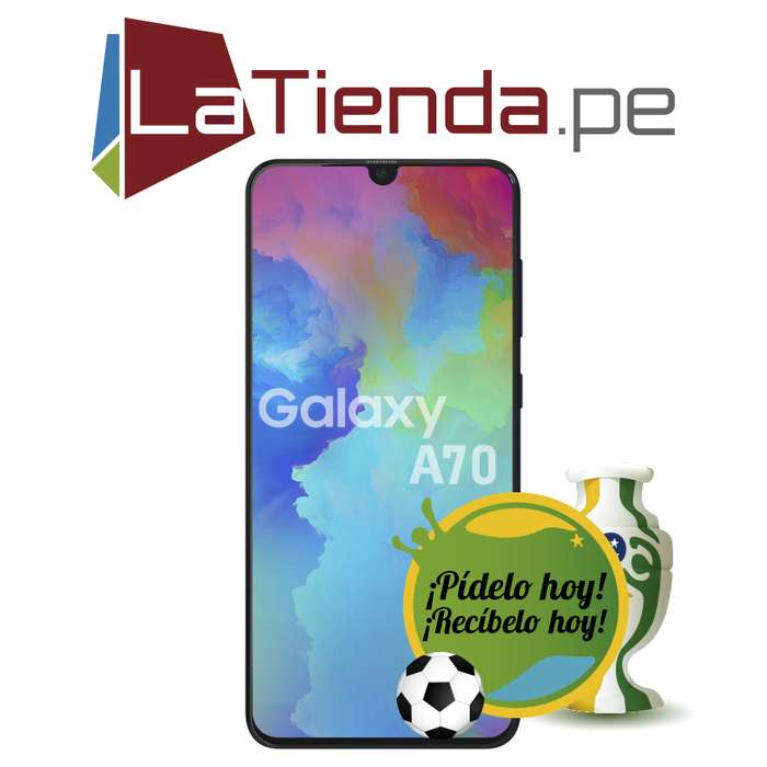 Samsung Galaxy A70 - lector de huellas embebido en pantalla