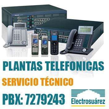 Servicio Técnico a Plantas Telefonicas 3224059356 Electrosuarez Reparación y Mantenimiento de Telefonía Panasonic