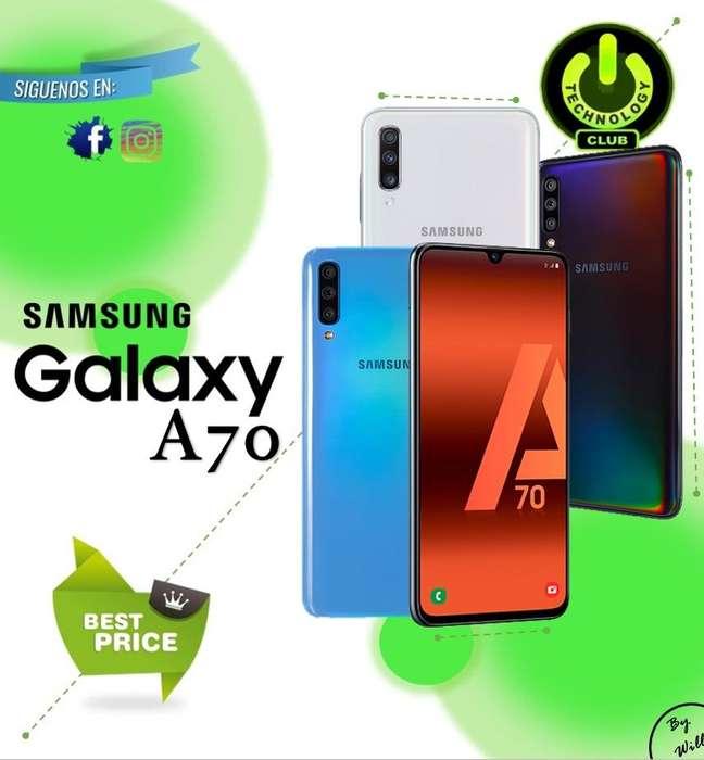 Cyber WOW <strong>samsung</strong> Galaxy A70 Modelo 2019 / Tienda física Centro de Trujillo / Celulares sellados Garantia 12 Meses