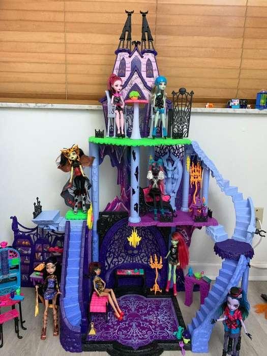 castillo completo de Monster High