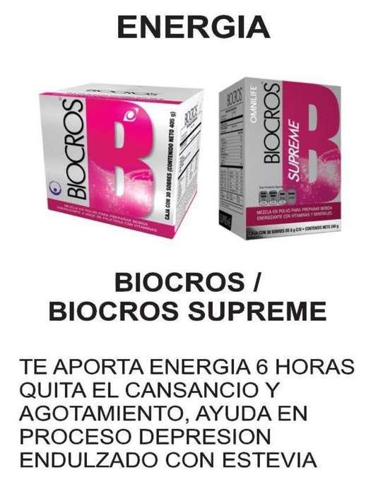Biocros Energizante Natural