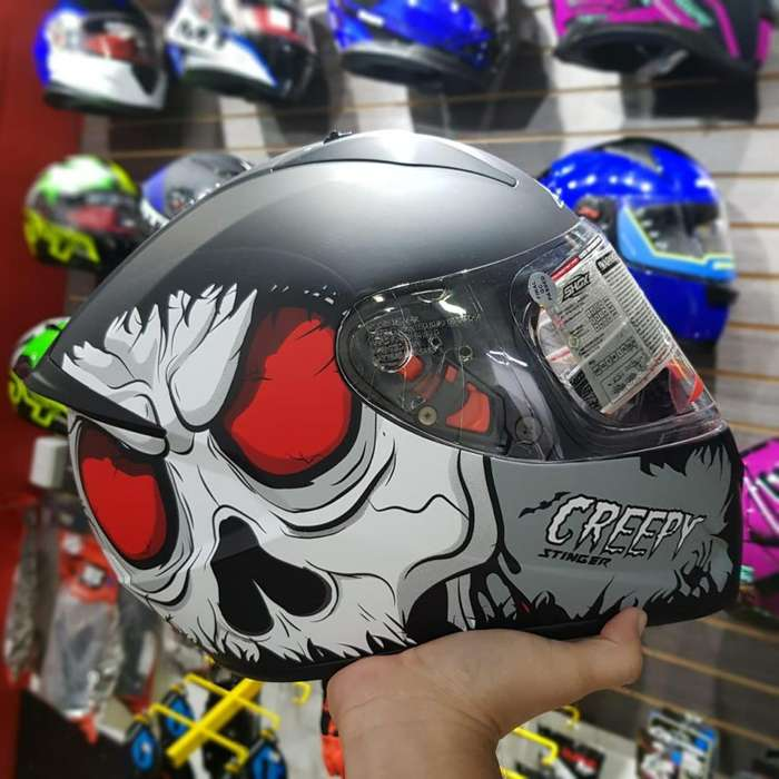 CASCO SHOX ST CREEPY 08 MOTORSP33D HJC ICON MT SHOX SHAFT BELL